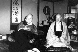 Keido Chisan Koho Zenji and Houn Jiyu Kennett